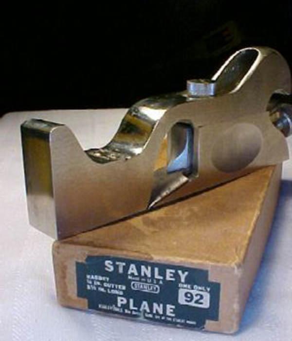stanley planes ebay. stanley no. 92 cabinet maker\u0027s rabbet plane planes ebay